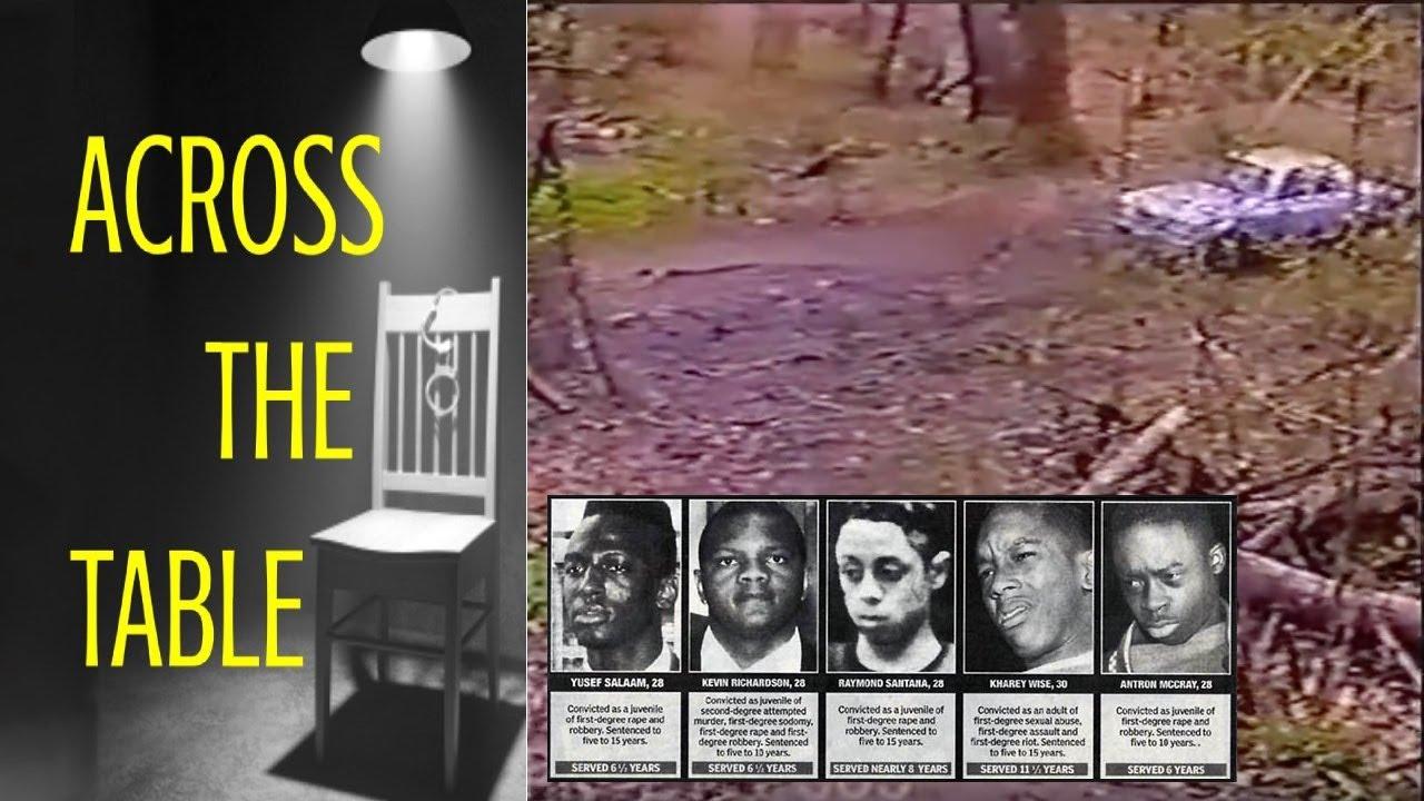 central park jogger crime scene photos