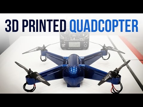 3D Printed Quadcopter Drone with Embedded Electronics