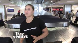 Ronda Rousey Says Fallon Fox Has Unfair Advantage But I'd Still Beat Her Ass!   TMZ Sports
