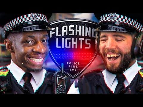 CALLING FOR BACKUP!!! TBJZLPlays FLASHING LIGHTS with JOSH!