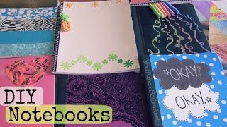 Diy Notebooks - Tfios, Chalkboard, Magazine, Crayon Wrappers, Duct Tape & More! ♥ Back To School
