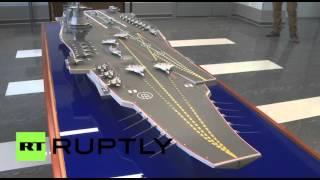 كشف النقاب عن مشروع حاملة الطائرات الروسية الجديدة