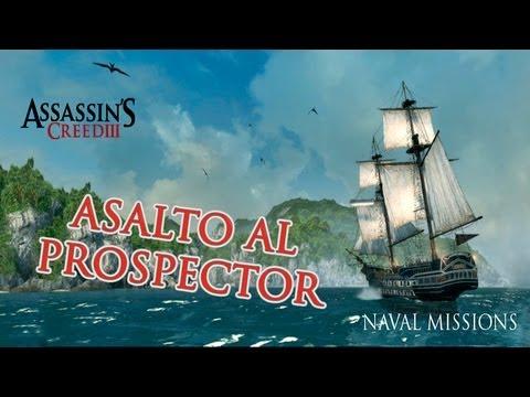 AC3 Aquila Mision Naval - Asalto al Prospector 100%
