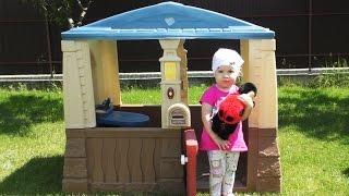 ✿ НОВЫЙ Игровой ДОМИК Дианы и Кукла Божья Коровка Playhouse for children dolls Ladybird unboxing(Игровой Домик Дианы и Кукла Божья коровка the Gaming House Doll Anne Geddes https://goo.gl/rCRCcH Подписка на Канал Kids Diana Show - http://goo.gl ..., 2016-06-06T03:29:35.000Z)