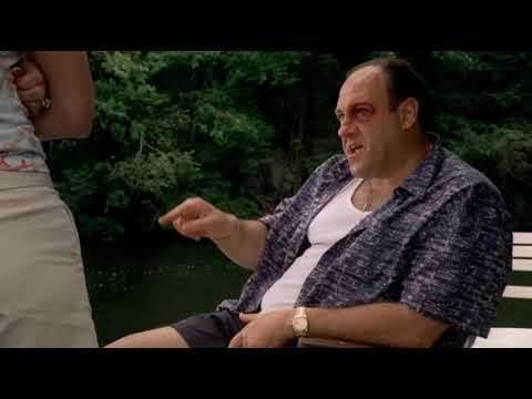 Тони Сопрано вспоминает, как избил Доменико Тедеско
