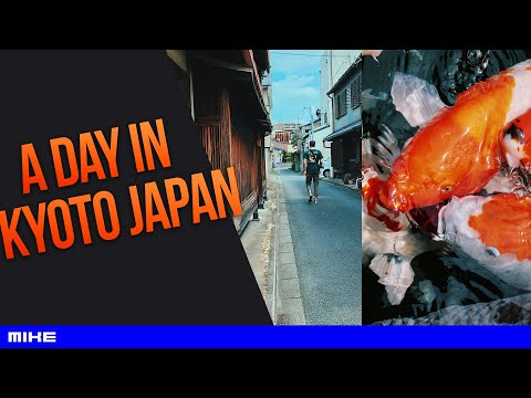 a day in kyoto japan