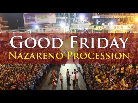 Black Nazarene : Good Friday Procession 2016