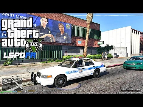 GTA 5 LSPDFR 0.3.1 - EPiSODE  96 - LET'S BE COPS - CITY PATROL (GTA 5 PC POLICE MODS)