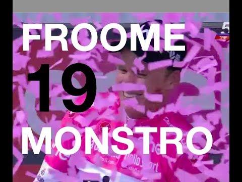 Giro D'Itália 2018 Etapa 19 MONSTRO FROOME