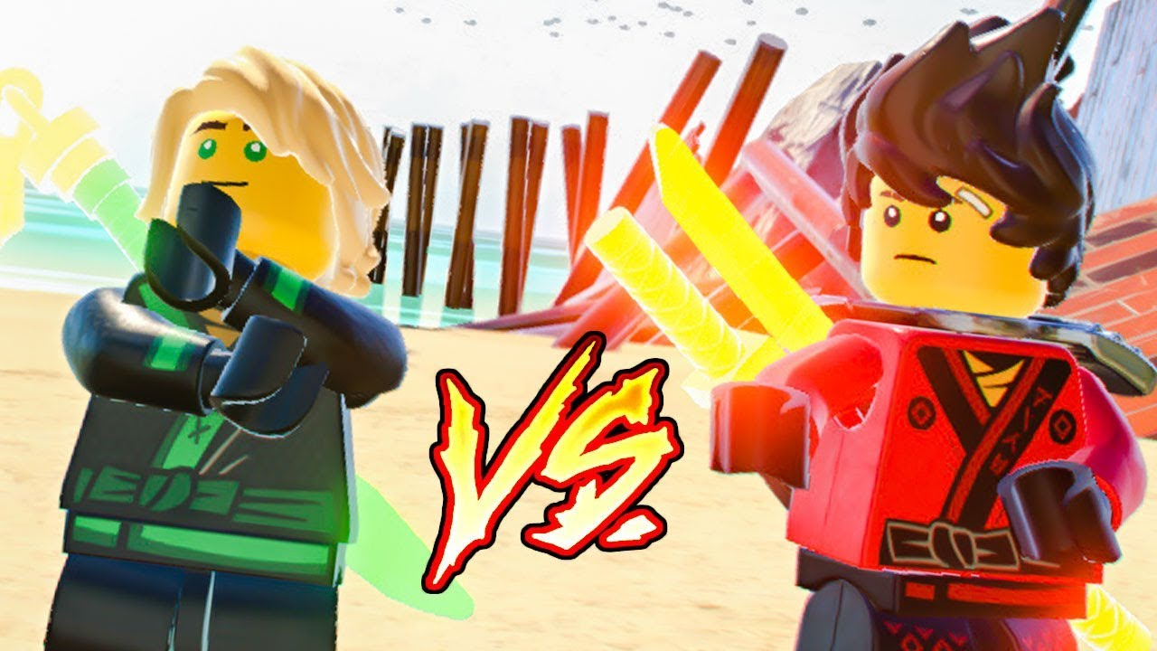 Lloyd vs kai em the lego ninjago movie video game youtube - Ninjago vs ninjago ...