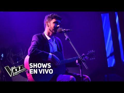 Live Shows #TeamSole: Lucas Belbruno canta