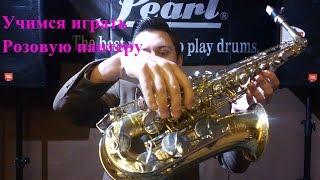 Уроки саксофона! Розовая пантера!