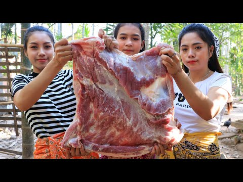 Cooking Pork Belly With Cabbages Recipe - Natural Life TV