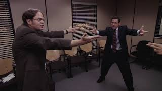 The Office but it's an action thriller