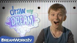 Gambar cover Ivan Slays the Cat-Dragon   DRAW MY DREAM