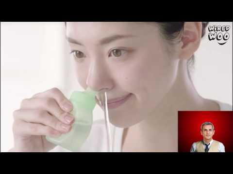 How to Clean Your Nose out in a Japanese Way !
