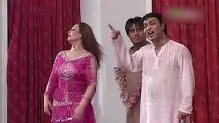 Best Of Nargis and Asif Iqbal New Pakistani Stage Drama Full Comedy Clip
