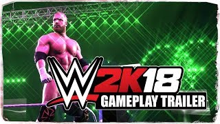 WWE 2K18 - First Gameplay Trailer || #RoadToWWE2K18