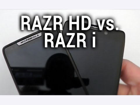 Motorola RAZR HD vs. RAZR i, comparaison - par Test-Mobile.fr