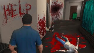 Никогда Не Заходите Ночью в Трейлер Тревора После Его смерти.. в GTA 5..