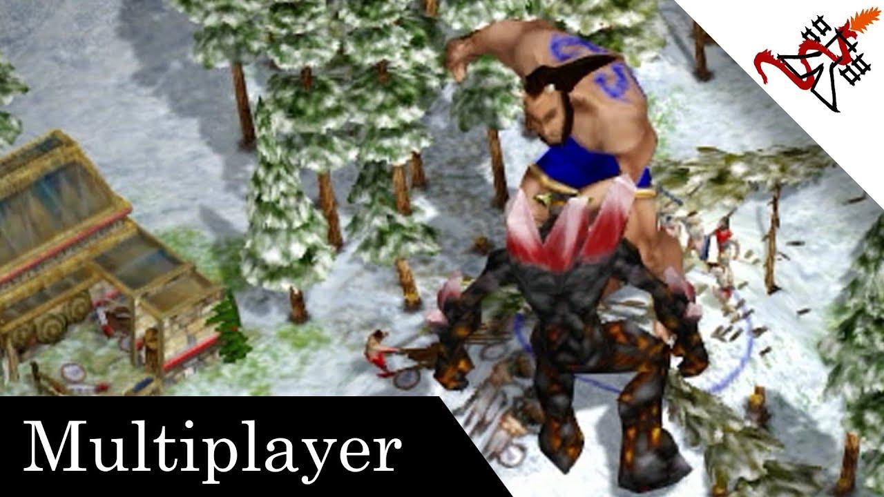 Age of Mythology Extended Edition – 1v1v1 THE ELEMENT OF SURPRISE | Multiplayer Gameplay