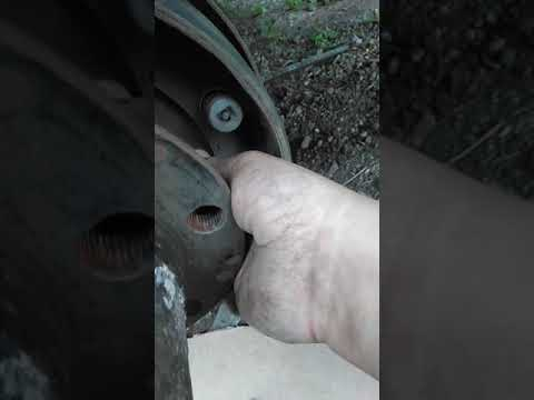Газель.Замена шпилек заднего колеса. Своими руками.
