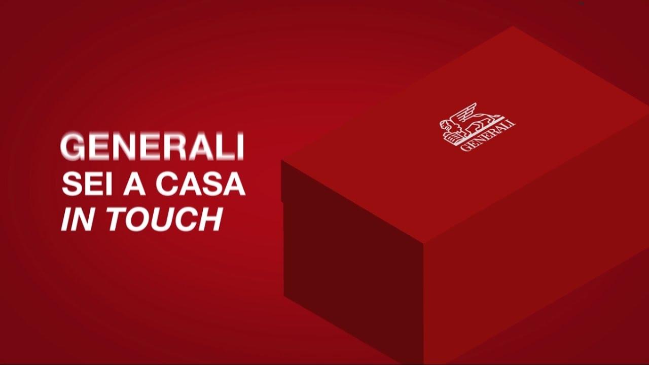 Generali sei a casa in touch youtube for Assicurazione casa generali