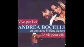 Video Andrea Bocelli & Helene Segara - Vivo Per Lei (Al Dente)(HQ)LYRICS download MP3, 3GP, MP4, WEBM, AVI, FLV November 2017