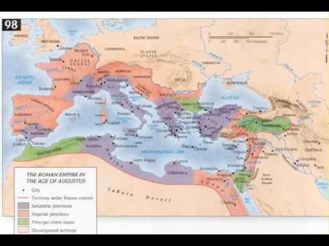 Roman History 10 - Octavian 44 - 23 BC