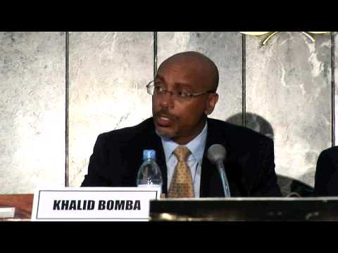 Agricultural Productivity & Food Security Conference - Khalid Bomba