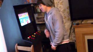 Hacked Nintendo Wii Arcade Machine
