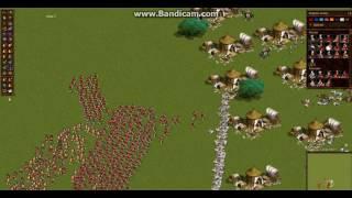 Казаки снова война.Англия против Франции.Осада лагеря Франции.