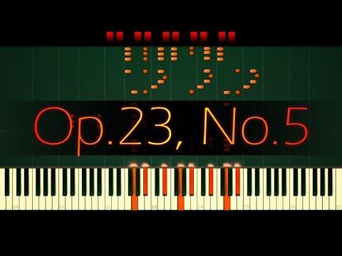 Prelude in G minor, Op. 23 No. 5 // RACHMANINOFF