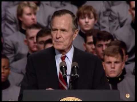 George H. W. Bush's Farewell Address 1993