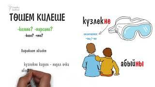 Грамматика татарского за 2 минуты: падежи