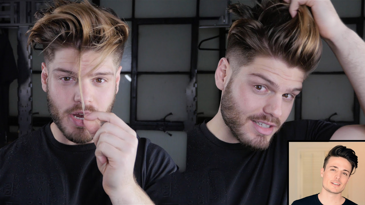 Mens Hair Transformation Long Hair To Faded Undercut Ft Anthony