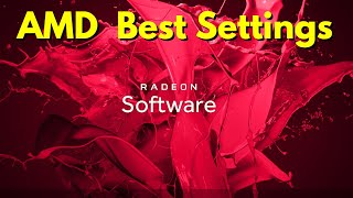 How To Optimize/Setup Amd Radeon Settings For Best Gaming Performance-2019
