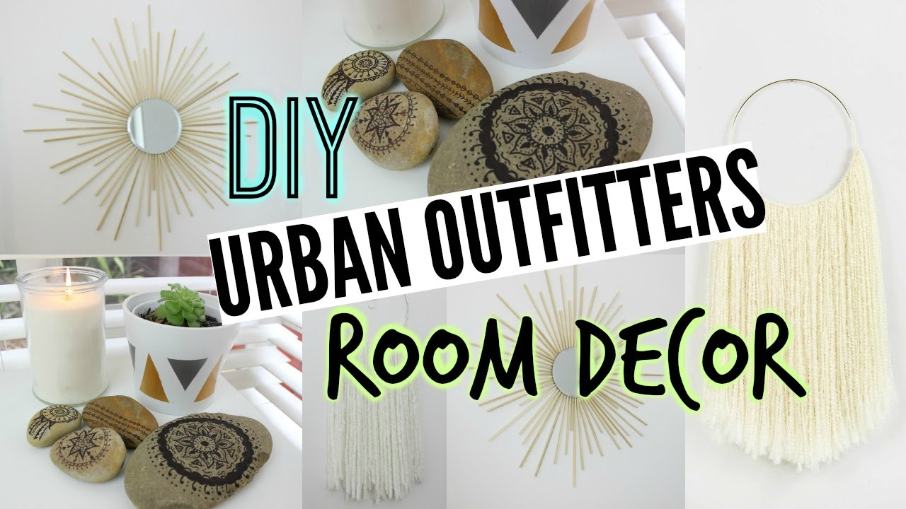 Diy Tumblr Room Decor Urban Outfitters Inspired Youtube