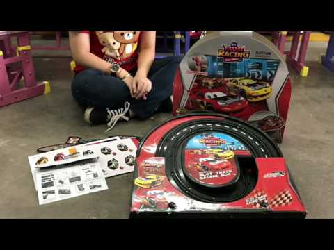 Slot track racing box