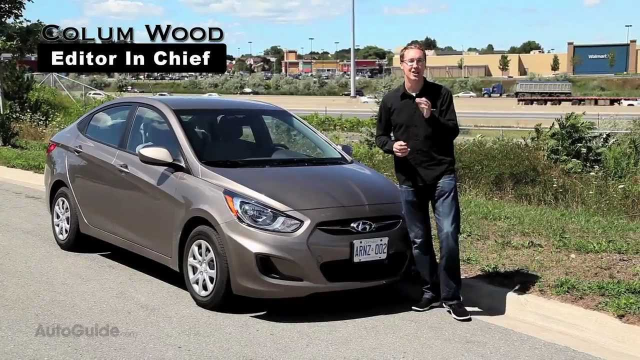 2012 Hyundai Accent Gls Sedan Review New Accent Sheds