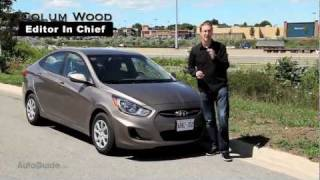 2012 Hyundai Accent GLS Sedan Review New Accent sheds econo box past in all ways, including price