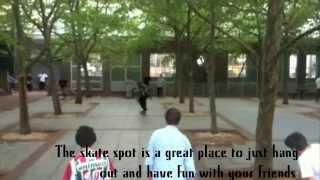 The Temple University Skate Spot