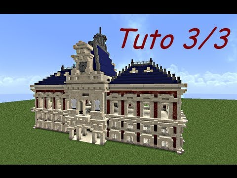 Minecraft tuto b timent 18 me si cle partie 3 3 youtube - Belle construction minecraft tuto ...