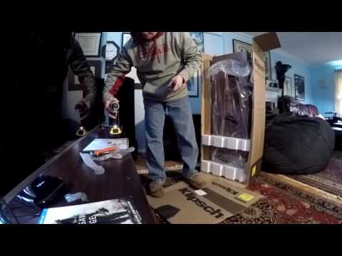 Klipsch Reference RF-7 II Unboxing