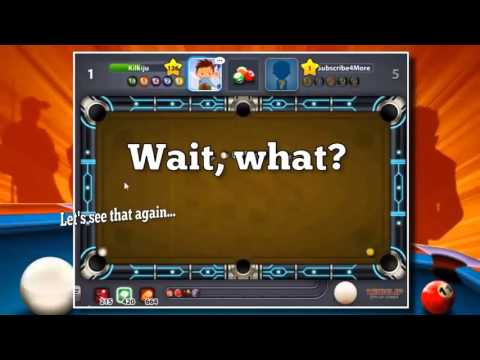 H43KRS Miniclip 8 ball pool ●► trick shots !! Episode 3 !!! ★ billiard shot