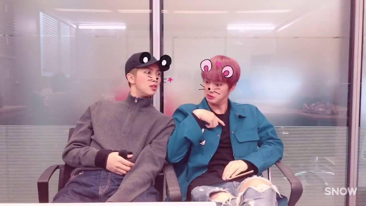 Rap Monster Cute And Funny Wallpaper Eng Sub Bts Snow Update Jimin Ships Namjin Youtube