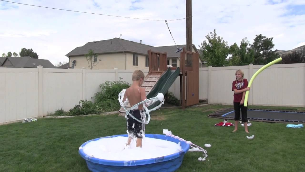 Winstons Backyard Wipeout Birthday Party