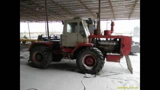 Слайд-шоу трактора Т-150