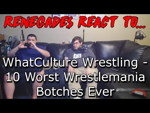 10 Worst Wrestlemania Botches Ever - REACTION!
