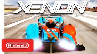 Xenon Racer - Release Date Trailer - Nintendo Switch